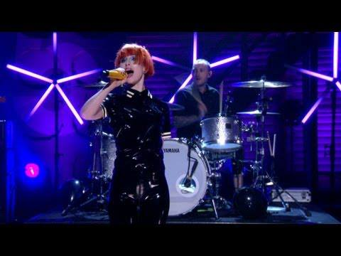Paramore Hayley Williams Conan O'Brien
