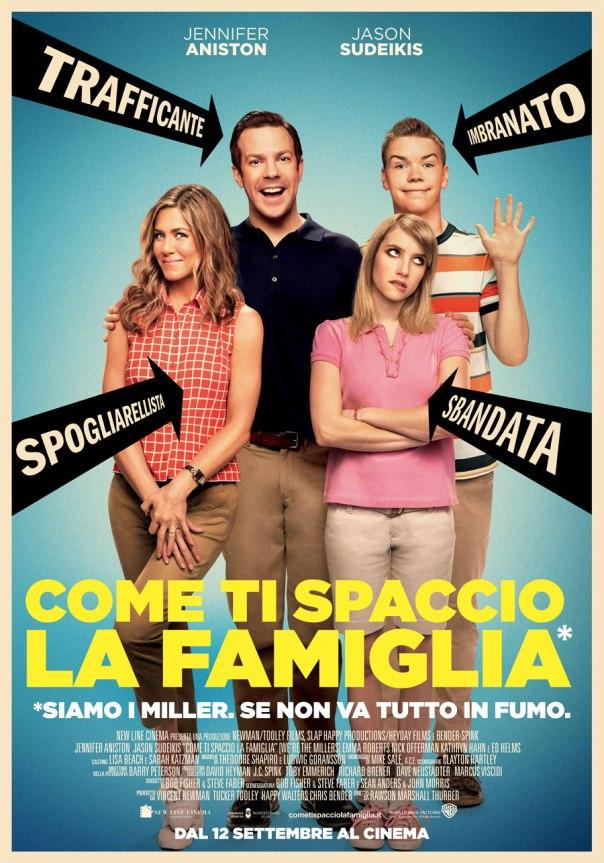 Come ti spaccio la famiglia Poster Locandina We're the Millers