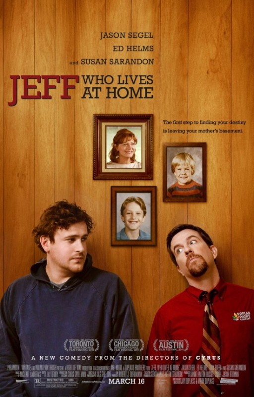 Jeff who lives at home A casa con Jeff Locandina film