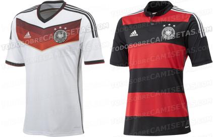 Germania maglia Mondiali Brasile 2014 home away
