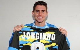 Napoli quarta maglia Xtreme 2014 Jorginho personalizzazioni