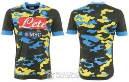 Napoli quarta maglia Xtreme 2014