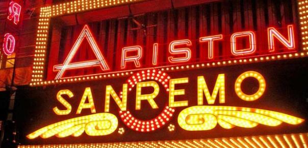 Ingresso Teatro Ariston Sanremo 2014