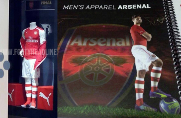 Arsenal Home Shirt 2014 2015