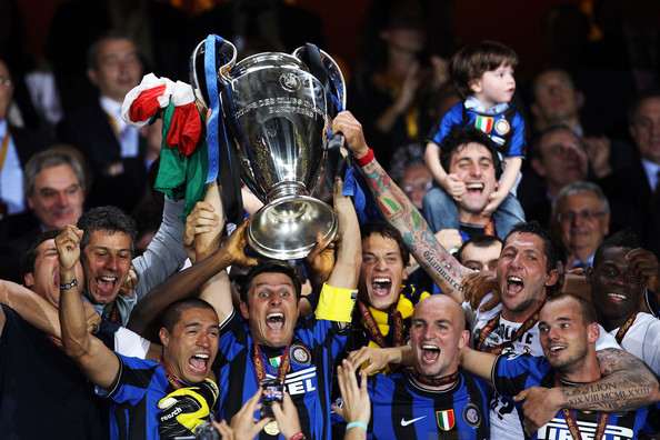 Inter Champions League Zanetti