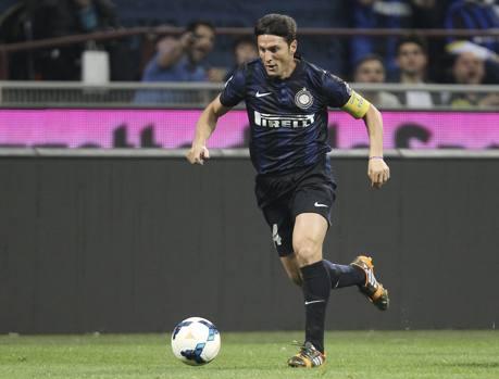 Javier Zanetti Inter Lazio 2014