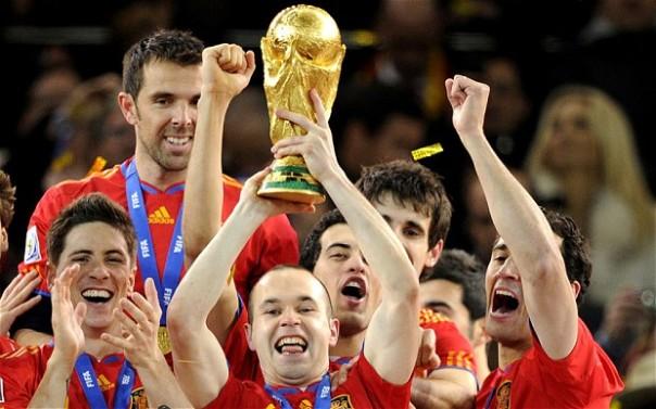 Spagna Mondiale Sudafrica 2010
