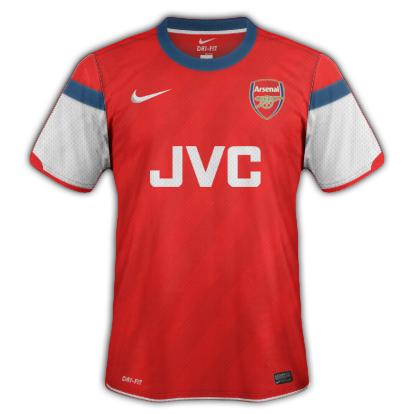Arsenal Fantasy Kit Home