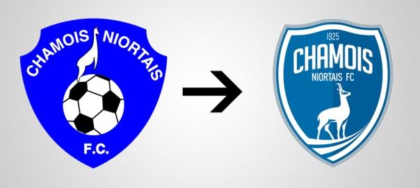 New Logo Chamois Old