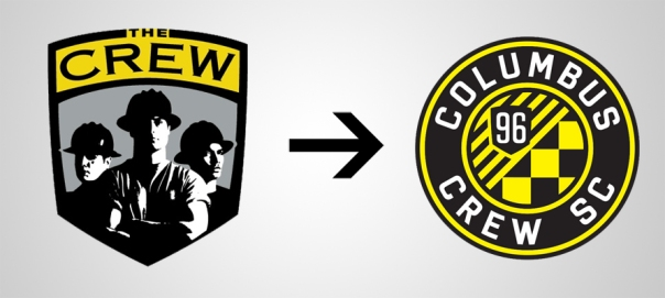 New Logo Columbus Crew Old