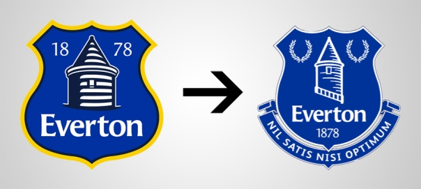 New Logo Everton Old