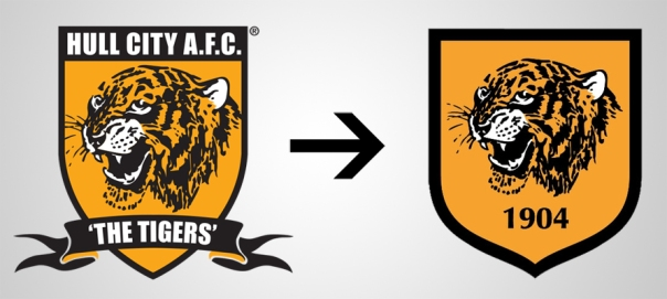 New Logo Hull City Old