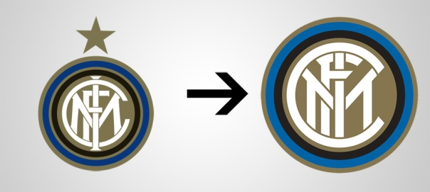 New Logo Inter Old