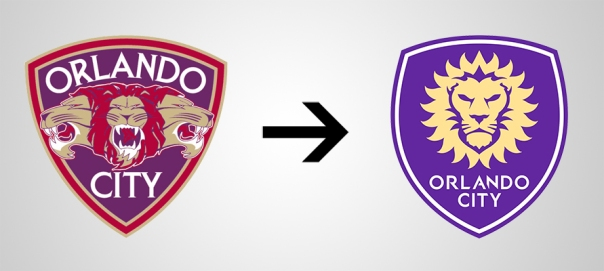 New Logo Orlando City Old