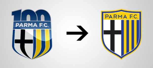 New Logo Parma Old