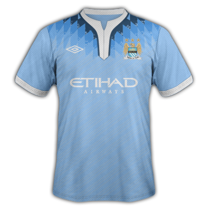 Manchester City Fantasy Kit Home