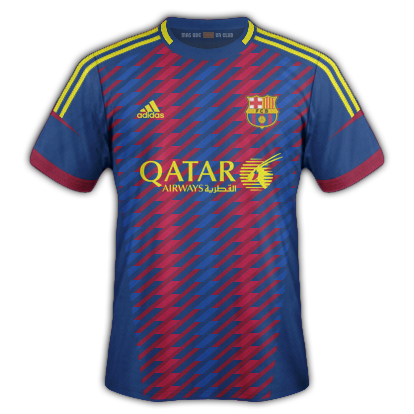 Barcellona Fantasy Kit Home