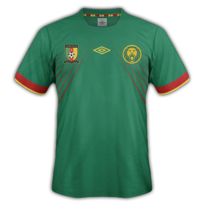 Camerun Fantasy Kit Home