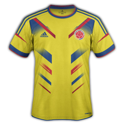 Colombia Fantasy Kit Home