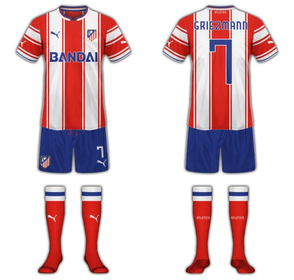 Atletico Madrid Fantasy Kit Home
