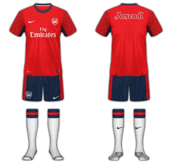 Arsenal Fantasy Training Kit