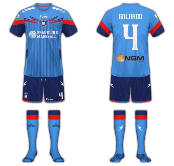 Crotone Fantasy Kit Away