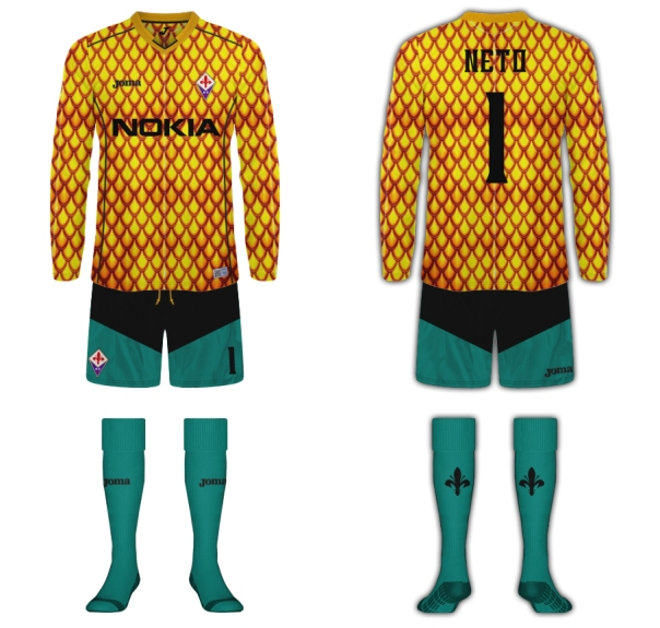 Fiorentina Aquaman Fantasy Kit Goalkeeper
