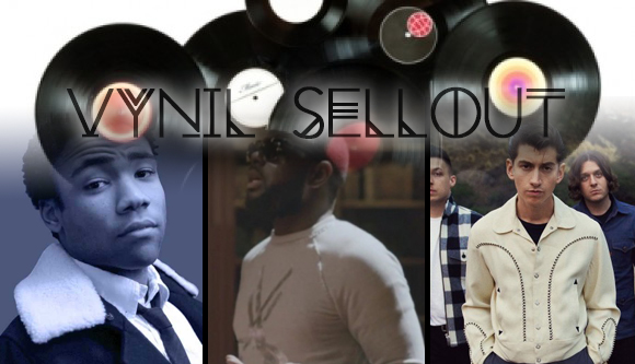 Vynil Sellout Childish Gambino Maître Gims Arctic Monkeys