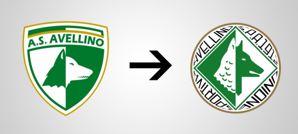 New Logo Avellino Old