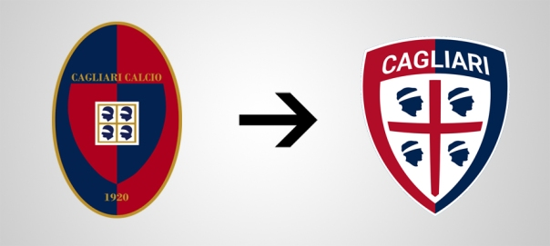 New Logo Cagliari Old
