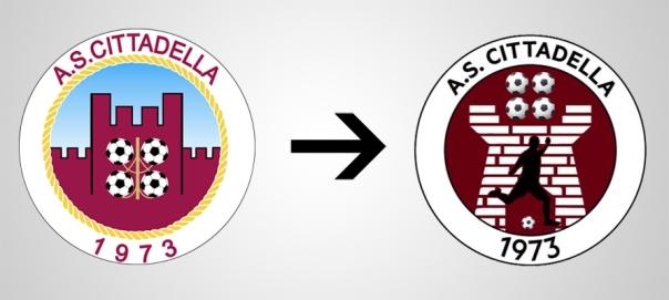 New Logo Cittadella Old