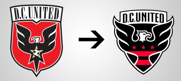 New Logo DC United Old