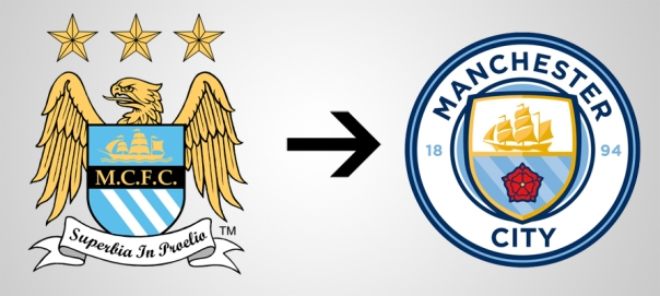 New Logo Manchester City Old