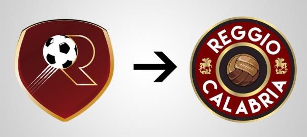 New Logo Reggio Calabria Reggina Old