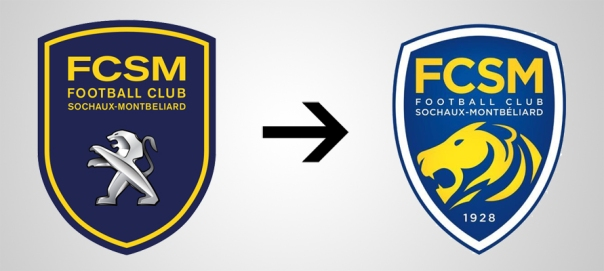 New Logo Sochaux Old