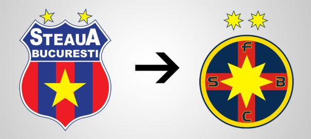 New Logo Steaua Bucarest Old
