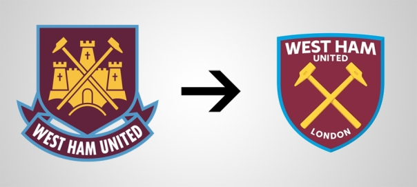 New Logo West Ham Old