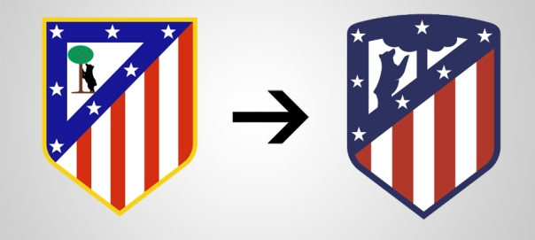 New Logo Atletico Madrid Old