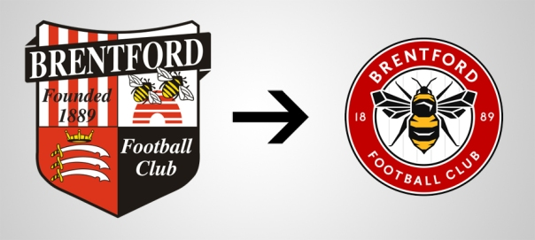 New Logo Brentford Old