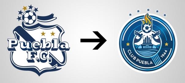 New Logo Puebla Old