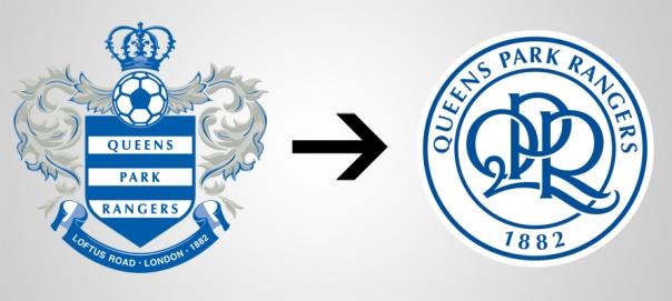 New Logo Queens Park Rangers Old