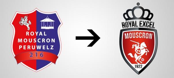 New Logo Royal Mouscron Old