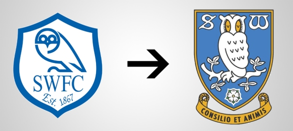New Logo Sheffield Wednesday Old