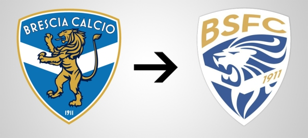 Brescia New Old Logo