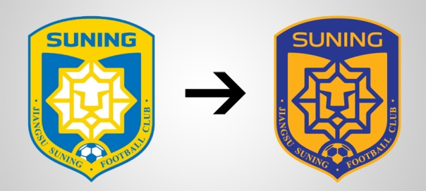 Jiangsu Suning New Old Logo
