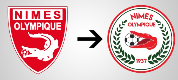 Nimes New Old Logo