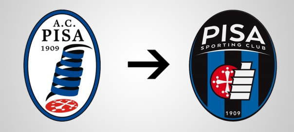 Pisa New Old Logo